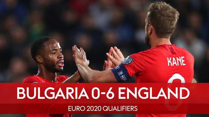 ยูโร รอบคัดเลือก : บัลแกเรีย VS อังกฤษ