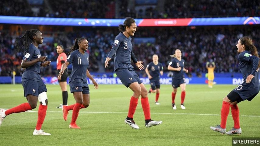 ฟุตบอลโลกหญิง : ฝรั่งเศส VS นอร์เวย์