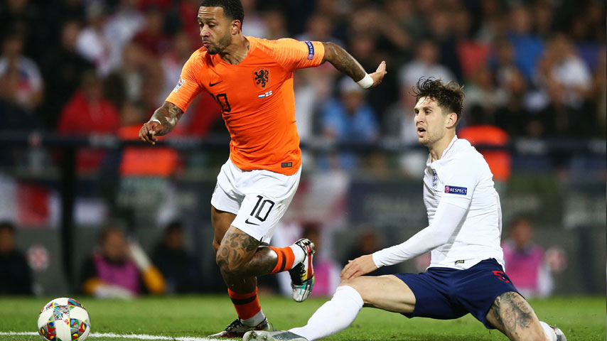 UEFA Nations League : Netherlands VS England