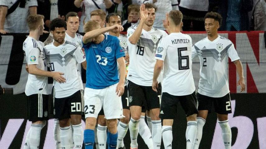 ยูโร รอบคัดเลือก : เยอรมนี VS เอสโตเนีย