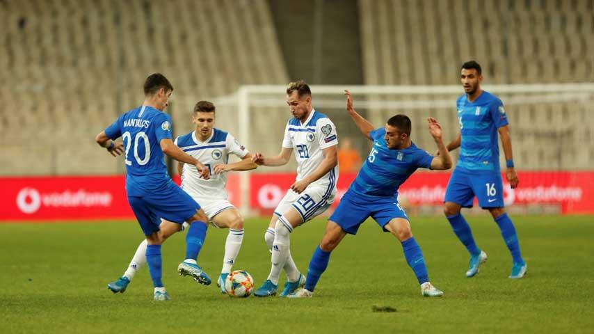 ยูโร รอบคัดเลือก : กรีซ VS บอสเนียและเฮอร์เซโกวีนา