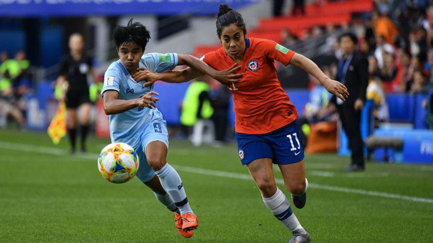 ฟุตบอลโลกหญิง : ไทย W VS ชิลี W