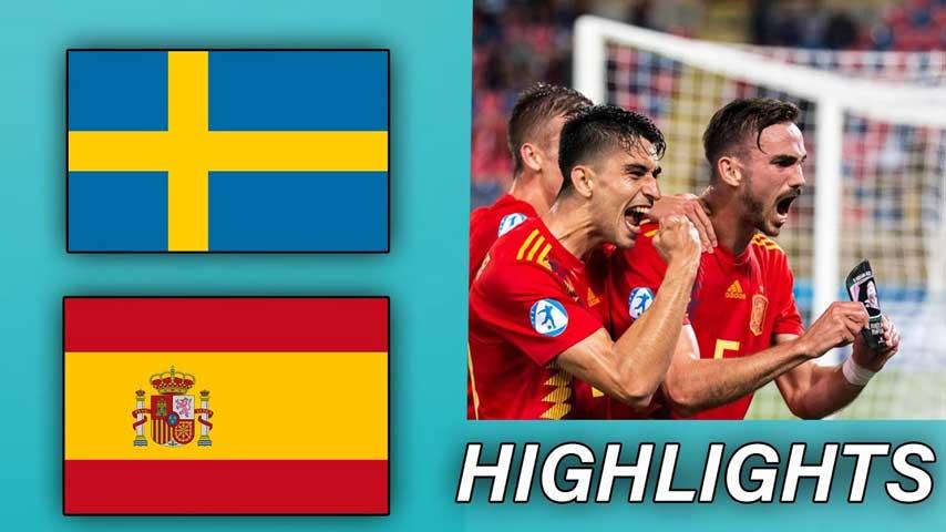 ยูโร รอบคัดเลือก : สวีเดน VS สเปน