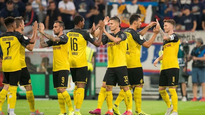 Germany - DFB Pokal : Uerdingen VS ดอร์ทมุนด์