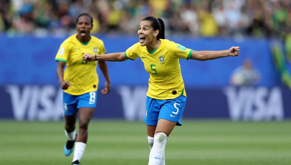 ฟุตบอลโลกหญิง : Australia W VS Brazil W