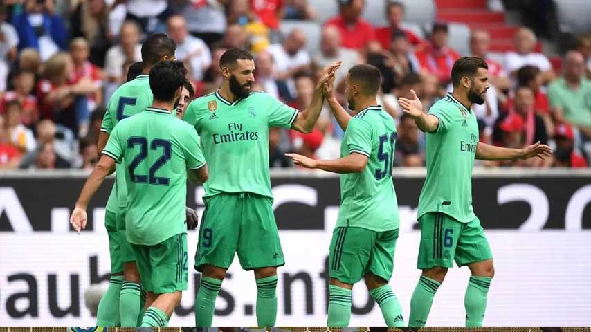 World - Audi Cup : เรอัล มาดริด VS Fenerbahçe