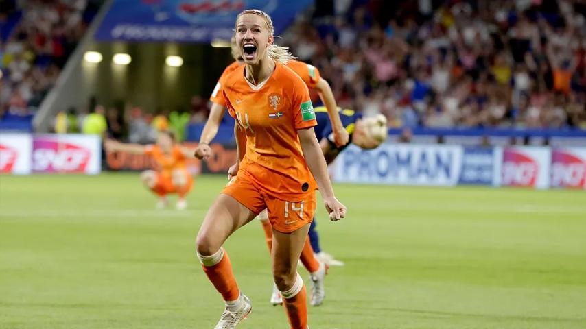 ฟุตบอลโลกหญิง : เนเธอร์แลนด์ W VS สวีเดน W