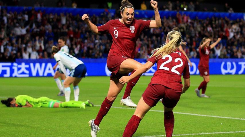ฟุตบอลโลกหญิง : อังกฤษ W VS อาร์เจนตินา W