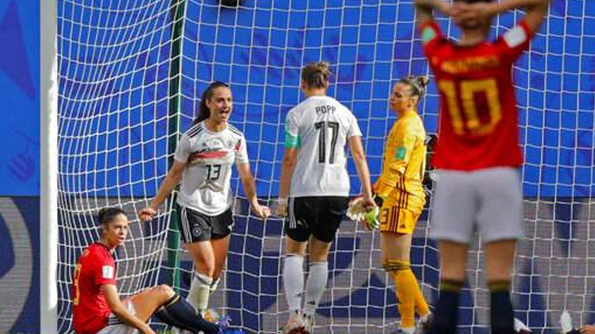 ฟุตบอลโลกหญิง : เยอรมนี VS สเปน
