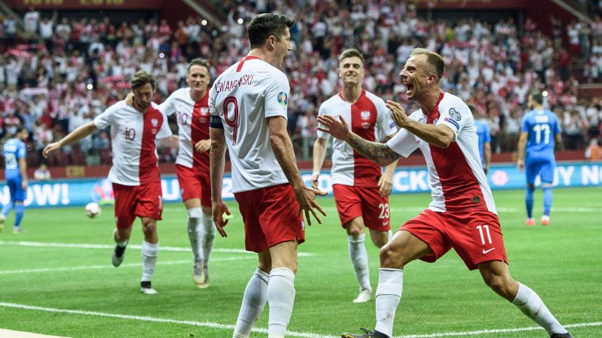 ยูโร รอบคัดเลือก : โปแลนด์ VS อิสราเอล