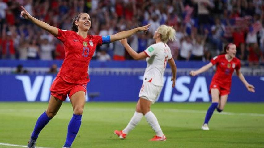 ฟุตบอลโลกหญิง : สหรัฐอเมริกา W VS เนเธอร์แลนด์ W