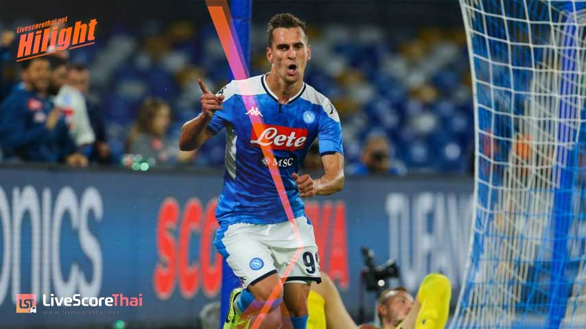 กัลโช่ ซีรีย์ อา อิตาลี : นาโปลี VS Hellas Verona