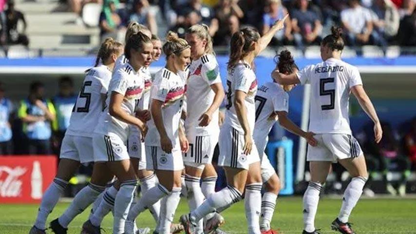 ฟุตบอลโลกหญิง : เยอรมนี W VS ไนจีเรีย W