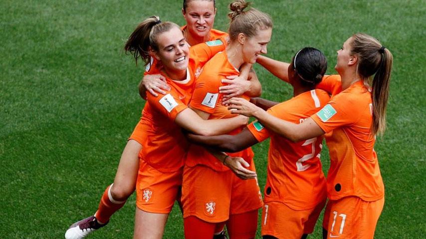 ฟุตบอลโลกหญิง : เนเธอร์แลนด์ W VS แคเมอรูน W