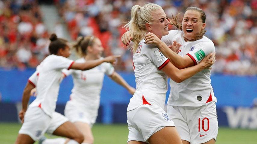 ฟุตบอลโลกหญิง : อังกฤษ W VS แคเมอรูน W