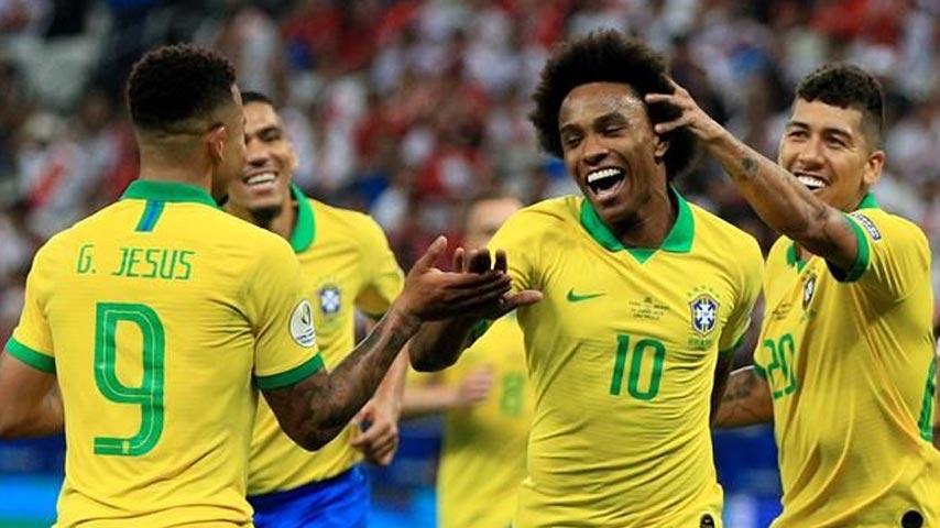 โคปาอเมริกา : เปรู VS บราซิล