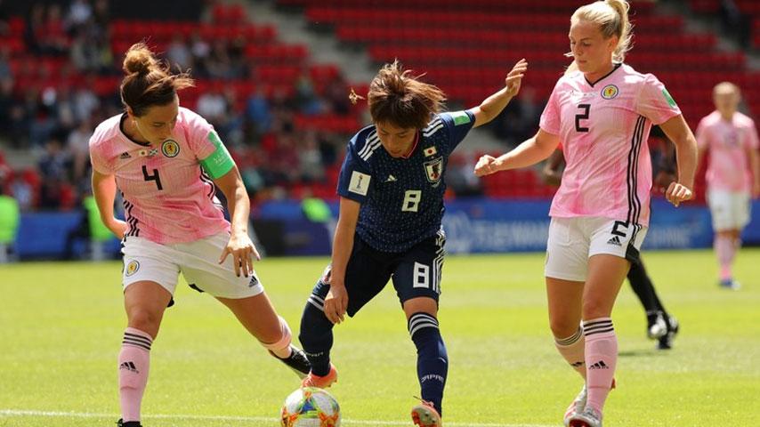 ฟุตบอลโลกหญิง : ญี่ปุ่น W VS สกอตแลนด์ W