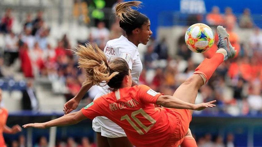 ฟุตบอลโลกหญิง : เนเธอร์แลนด์ W VS แคนาดา W