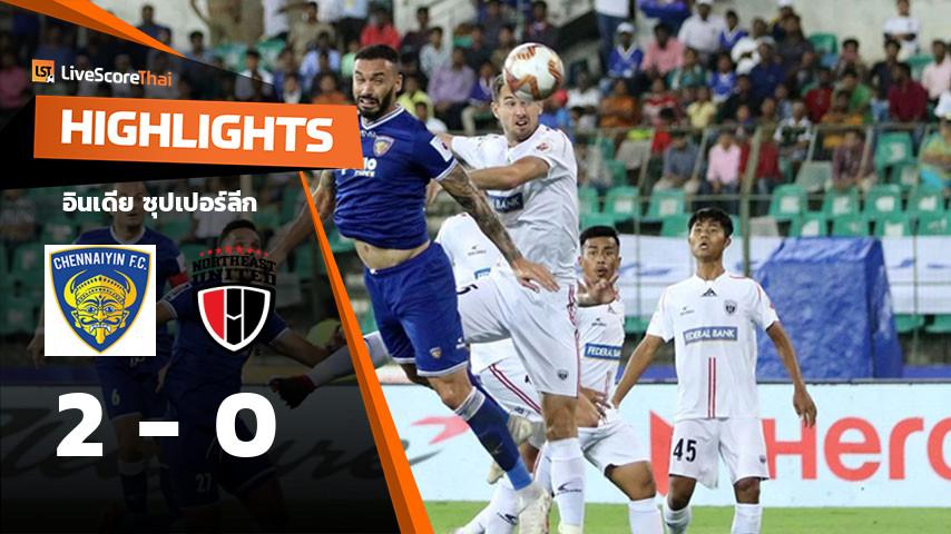 India - Indian Super League : Chennaiyin VS NorthEast United